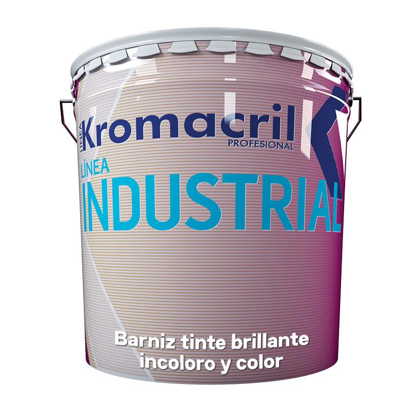 Barniz tinte brillante incoloro y color