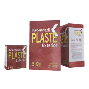 Masilla plaste pared exterior