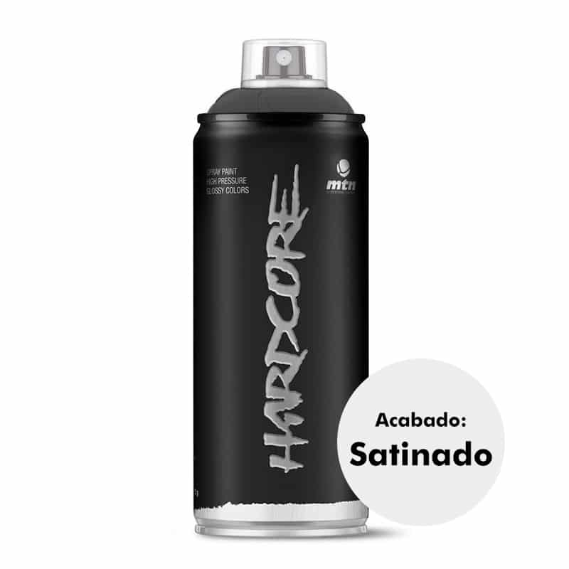 Pintura en spray satinada