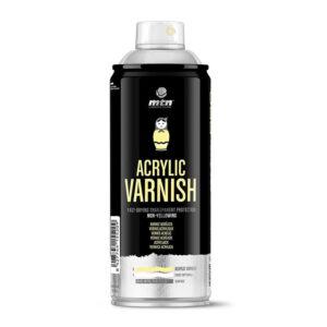 Barniz acrílico spray