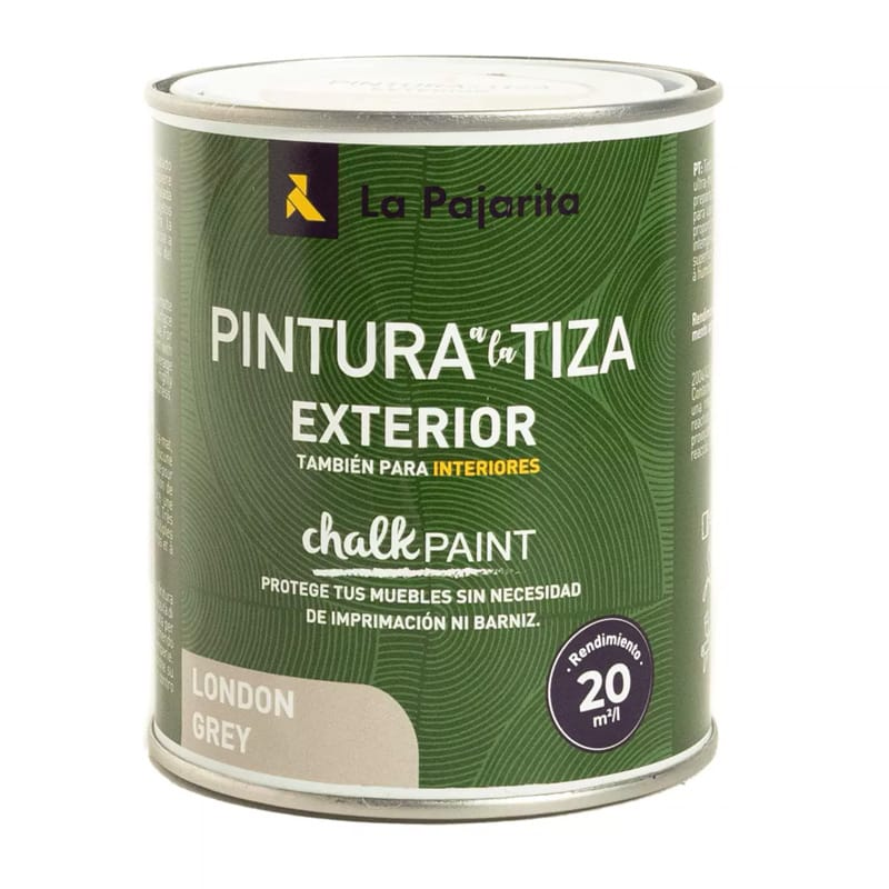 Pintura a la tiza para exteriores